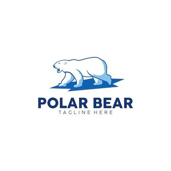 Logo polar bear prêt à l'emploi