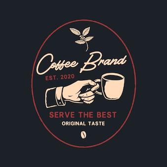 Logo pour cafetière
