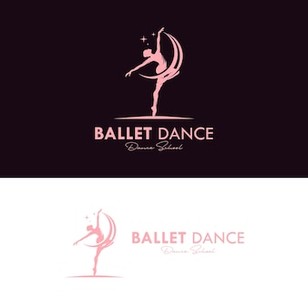 Logo pour un studio de ballet ou de danse
