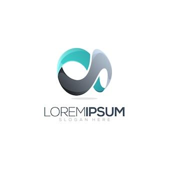 Logo premium infinity