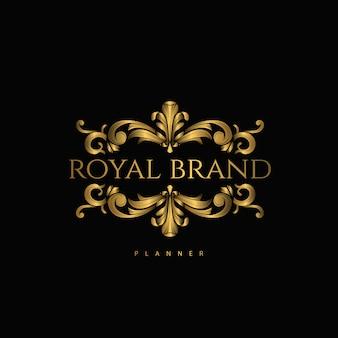 Logo premium luxury avec golden