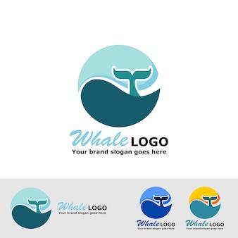 Logo de queue de baleine