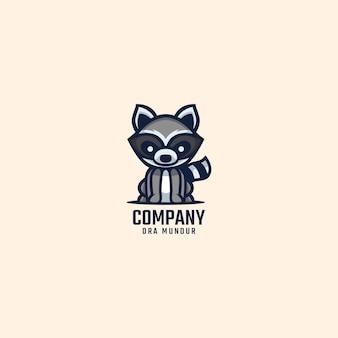 Logo de raton laveur