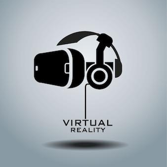 Logo de réalité virtuelle