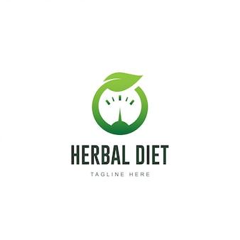 Logo de régime à base de plantes