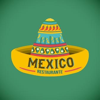 Logo restaurant cuisine mexicaine