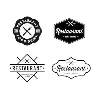 Logo rétro vintage