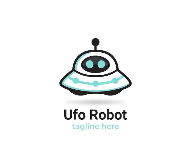 Logo de robot ovni