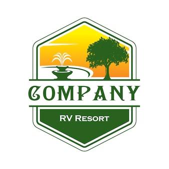 Logo de rv resort