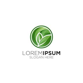 Logo de santé des feuilles