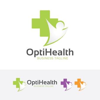 Logo de santé optimale