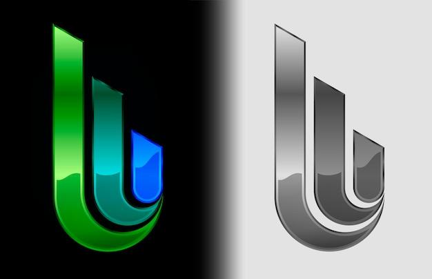 Logo semi-circulaire de trois éléments en couleur et noir et blanc, modèle de conception de vecteur abstrait entreprise logo créatif, logotype hi tech infinity, illustration vectorielle