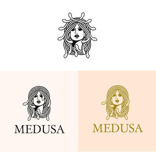 Logo serpent méduse