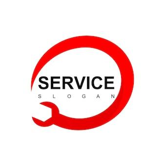 Logo de service automobile