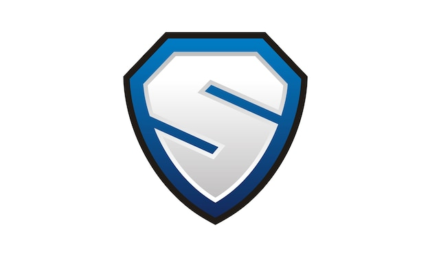 Logo shield / secure / ou initial s
