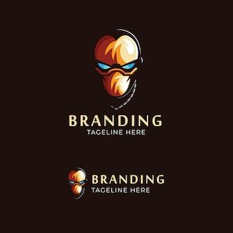 Logo de singe de qualité supérieure
