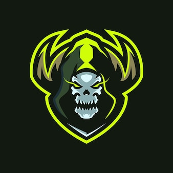Logo de skull shaman esports