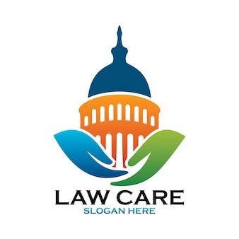 Logo de soins de droit