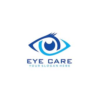 Logo de soins oculaires