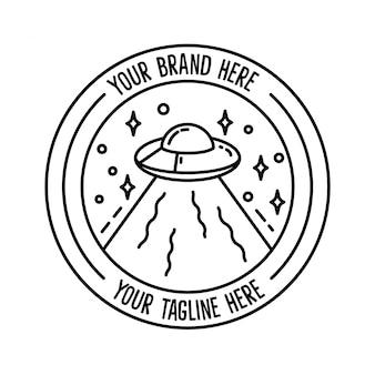 Logo space monoline