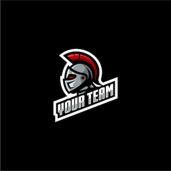 Logo spartiate jeu