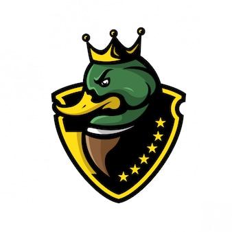 Logo sport roi canard