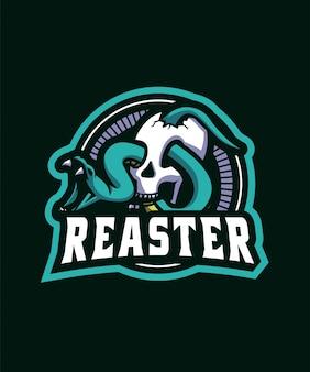Logo de sport de serpent