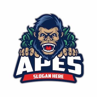 Logo sport des singes