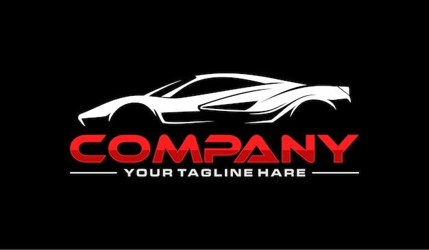 Logo de sport de voiture