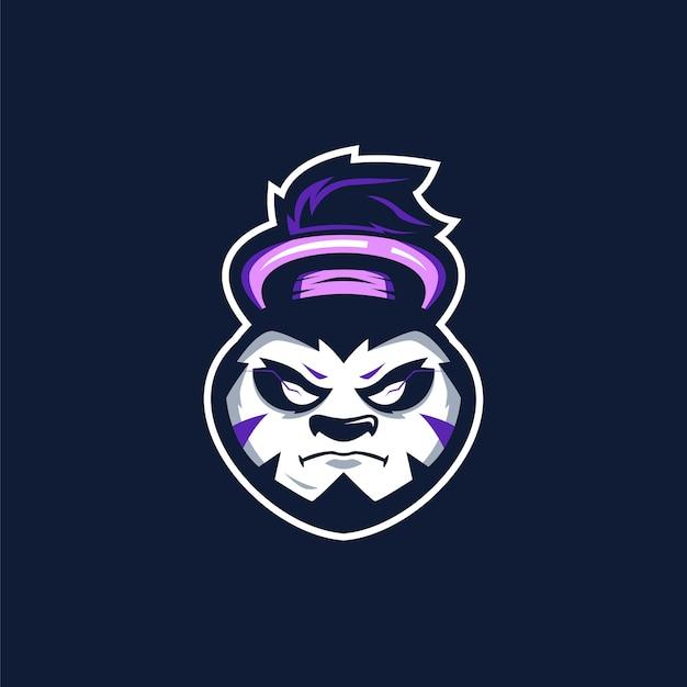 Logo sports panda moine