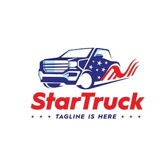 Logo star truck