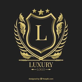 Logo avec style vintage et luxe