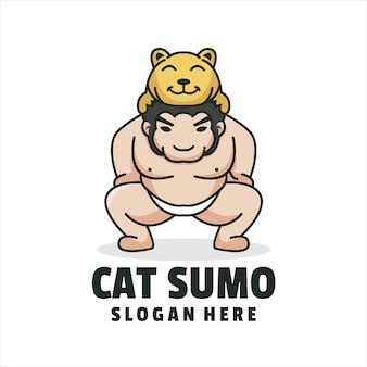 Logo de sumo de chat