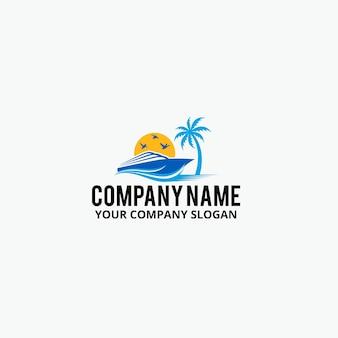 Logo sun boat