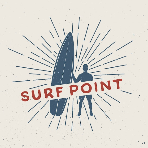 Logo de surf