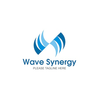 Logo de synergie d'onde