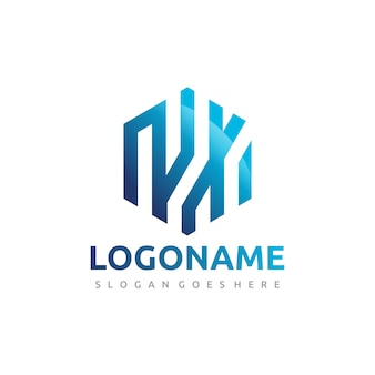 Logo de la technologie hexagon