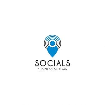Logo template sociale