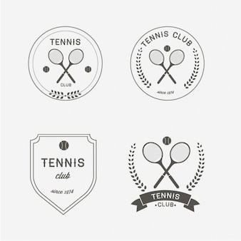 Logo tennis conception