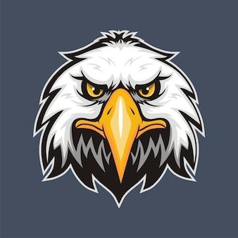 Logo tête d'aigle pour t-shirt