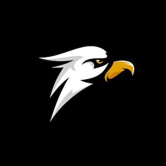 Logo tête d'aigle