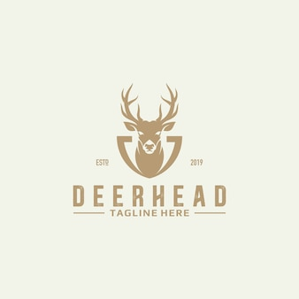 Logo tête de cerf