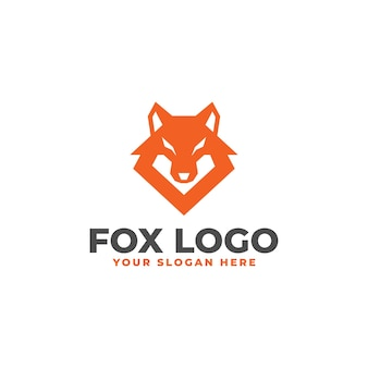 Logo tête de renard