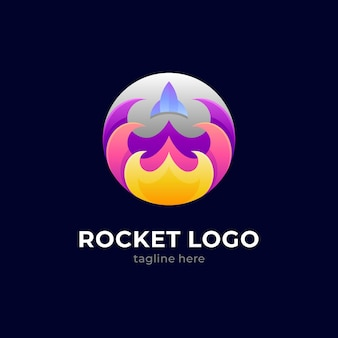Logo de tir de roquette