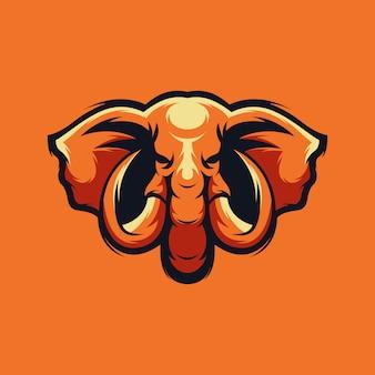 Logo vectoriel éléphant