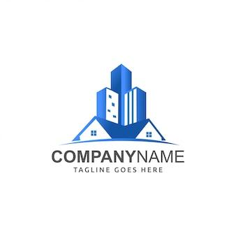 Logo vectoriel immobilier