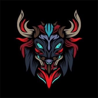 Le logo vectoriel de monstres chasseurs