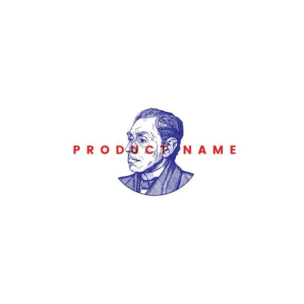 Logo vectoriel vintage