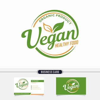 Logo végétalien