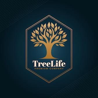 Logo de la vie de l'arbre